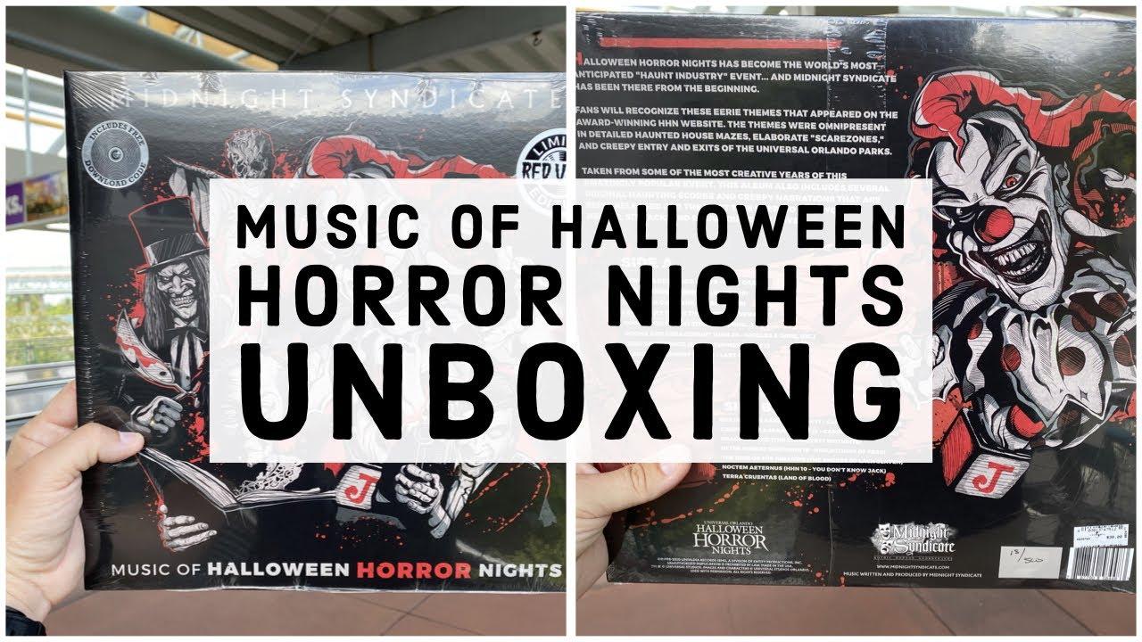 Halloween Horror Nights 2020 Music Midnight Syndicate   Music of Halloween Horror Nights Vinyl