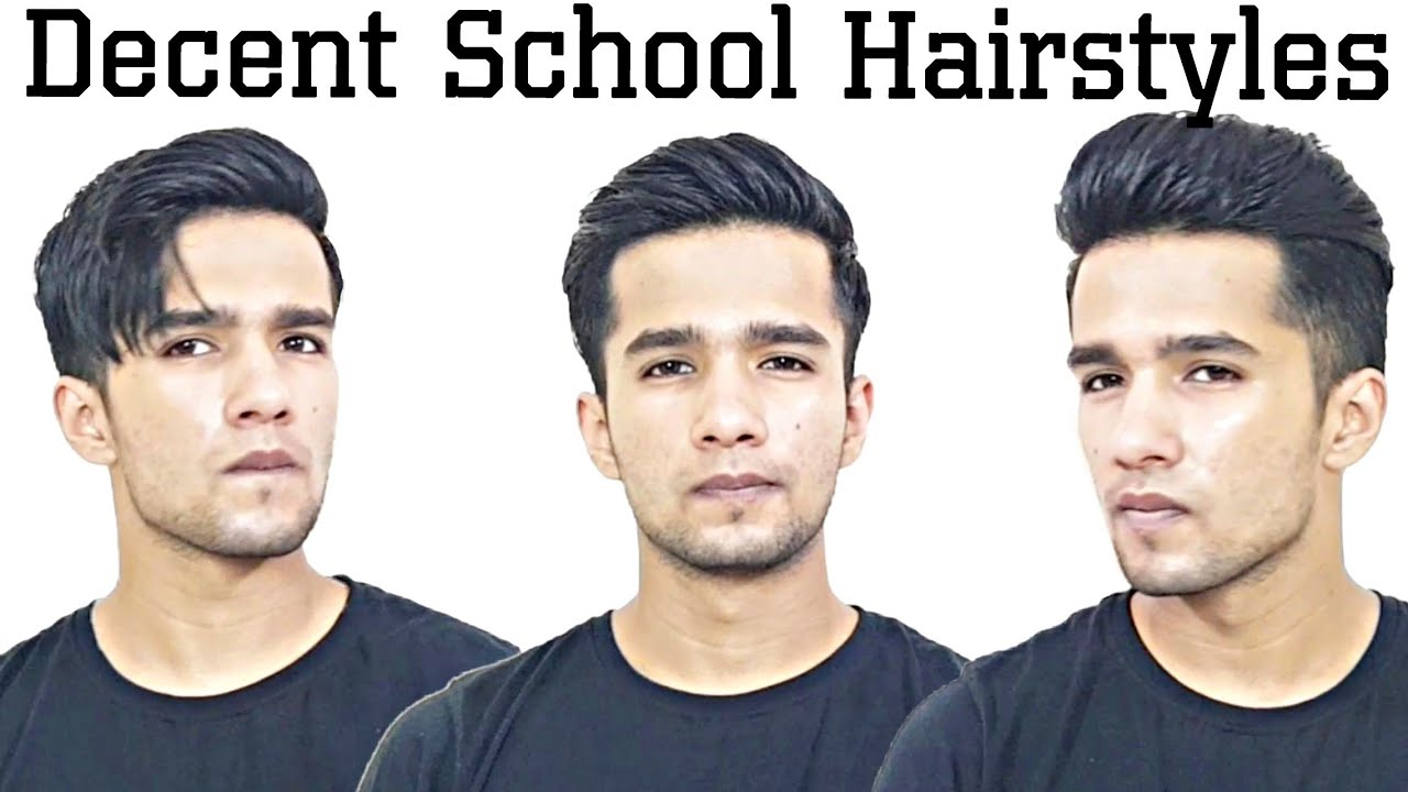 best hairstyles for school boys | top decent hairstyles men