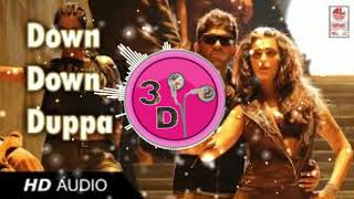 20D SOUND  Race Gurram Songs   Down Down Full Video Song   Allu Arjun, Shruti hassan, S.S Thaman