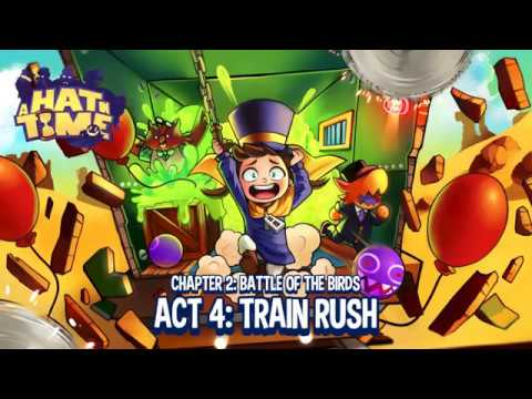 A Hat in Time: Train Rush - 17.88 Remaining (No Time Stop Hat, No Extra Time, No Damage)