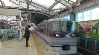 西武10000系「レッドアロー」 石神井公園駅通過
