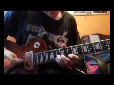 Bumblefoot Catcher in the Rye solo [Cover]