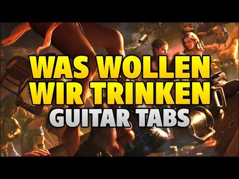 [fingerstyle Guitar] Bots – Was Wollen Wir Trinken And Scooter – How Much Is The Fish