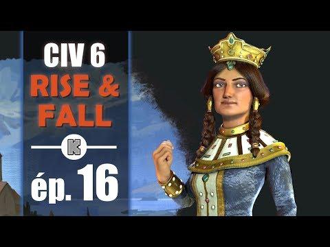 [FR] Civilization 6 RISE AND FALL Géorgie let's play ép 16