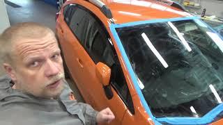 Полировка авто своими руками. Пример восстановительной полировки
