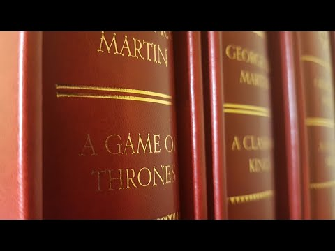 A GAME OF THRONES +++ DELUXE Leatherbound Slipcase Edition (ASOIF) - Beautiful Books Review