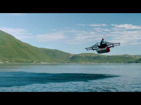 Larry Page's New Flying Motorcycle/Jet Ski - The Kitty Hawk (No Pilot License Required)