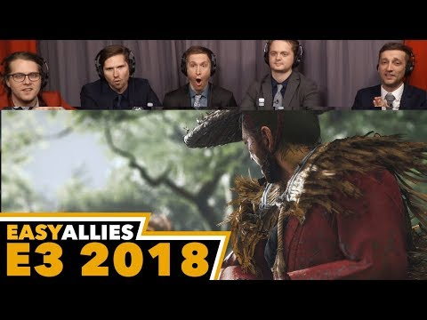 Ghost of Tsushima - Easy Allies Reactions - E3 2018