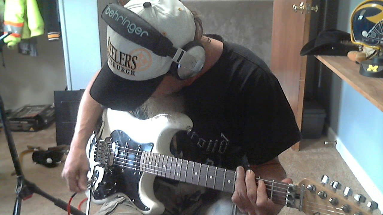 ac/dc-live wire cover - YouTube