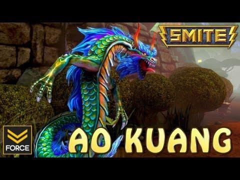 SMITE: AO KUANG (Gameplay)