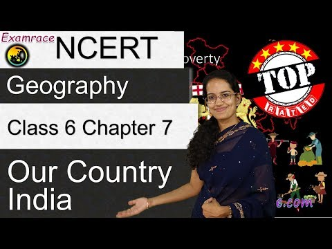 NCERT Class 6 Geography Chapter 7: Our Country India