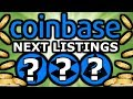 Exchange Listings 😱 Next Coins on Coinbase Are…...Plus Poloniex and Circle App Listings