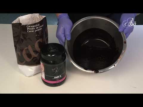 Veganskt kakaoglaze