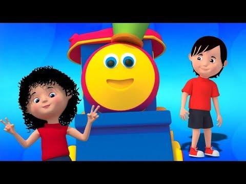 Bob train   Sô cô la lane   trẻ em vần video   Bob Train Chocolate Lane   Kids Rhyme   3D Baby Songs