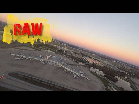 Un-Edited Takeoff Video   Orlando   Air Canada Rouge   B767-300