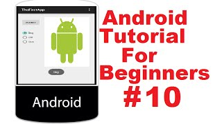 Android Tutorial for Beginners 10 # Android RadioButton Basics With Example