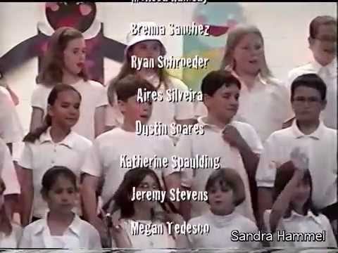 CONGO BOAT SONG ♫ Night Concert ♫ Hathaway 4th Grade Chorus 1999