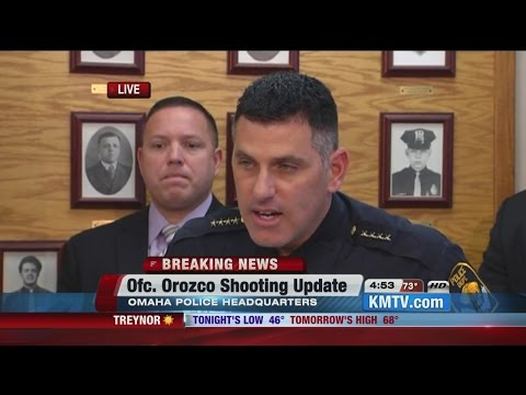 RAW: Omaha Police Chief Todd Schmaderer details shooting that left officer, suspect dead