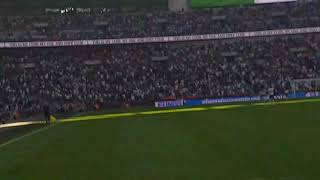 Tottenham vs Burnley Wood goal/crowd going  mental