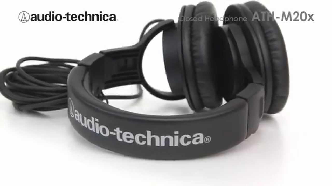 Audio Technica Ath M20x Youtube Black
