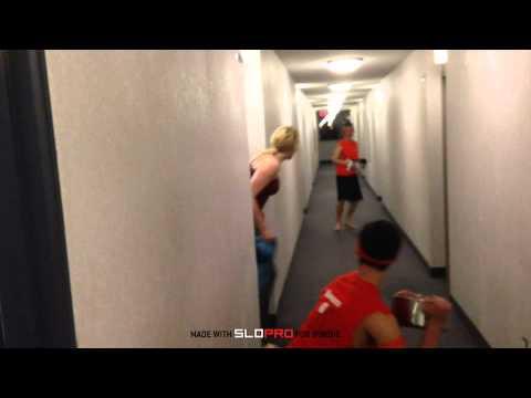 Seneca College: Water Fight In Rez