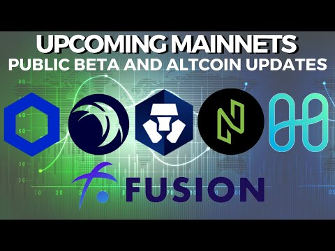 Upcoming Mainnets and Public beta! HARMONY, FUSION, NULS, SAFEX, CRYPTO.COM - Crypto News