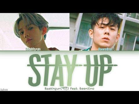 Baekhyun(백현) - 'Stay Up (feat. Beenzino)' LYRICS [HAN|ROM|ENG COLOR CODED] 가사
