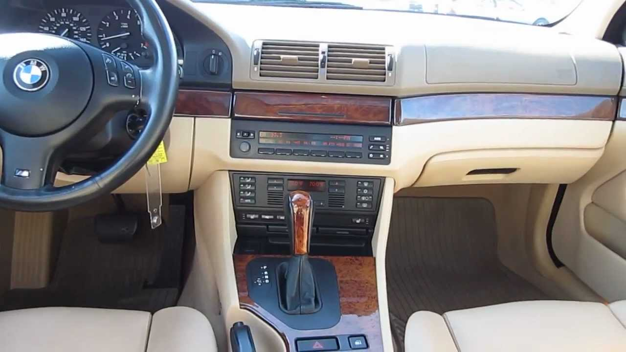 2003 BMW 525i blue  Stock H2046A  Interior  YouTube