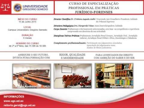 UGS - LAC LUANDA - Curso de Direito