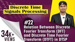 Relation Between Discrete Fourier Transform (DFT) and Discrete Time Fourier Transform (DTFT) in DTSP