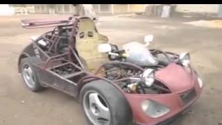 African Man Built A Car Out Of S****s He Found Laying Around!