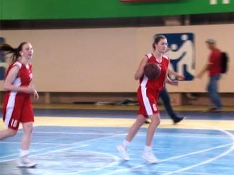 Баскетбол в рамках 26-й спартакиады. Женские команды