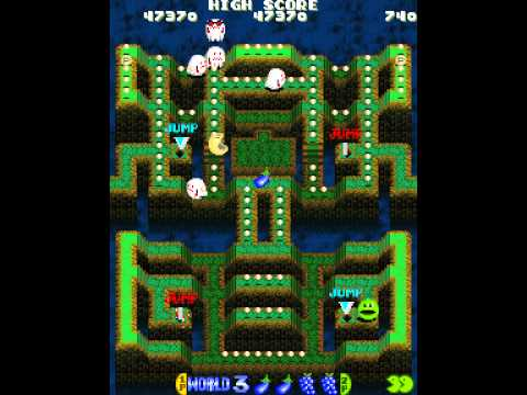 Namco Classic Collection Volume 2: Pac-Man Arrangement 2 Player Netplay 60fps