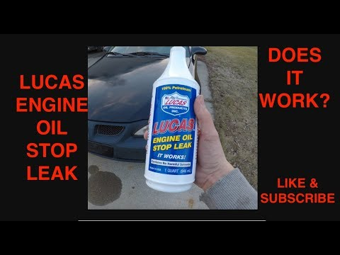 Lucas Engine Oil Stop Leak - Does it Work? Full Review on it!