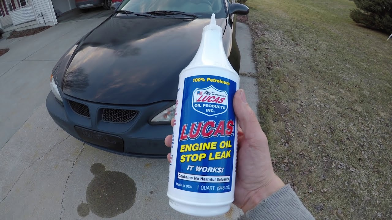 Lucas Engine Oil Stop Leak - Does It Work? Full Review On It!  Chad  Williams 05:00 HD