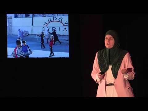 How a New Hampshire mom created change in Syria | Nadia Alawa | TEDxAmoskeagMillyard