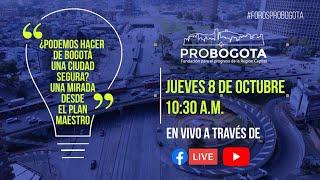 ¿Podemos hacer de Bogotá una ciudad segura? Una mirada desde el Plan Maestro