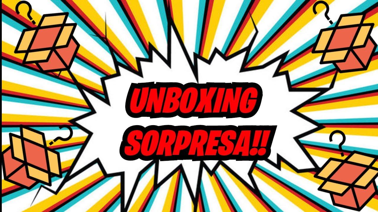 UNBOXING SORPRESA!! NO IMAGINAS LO QUE ES