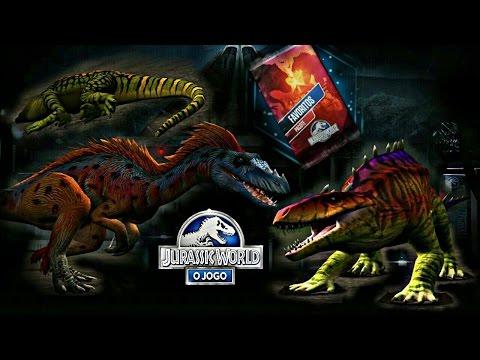 TANYCOLAGREUS & PRESTOSSUCO +Novidades Vip + Batalhas - Jurassic World: O Jogo