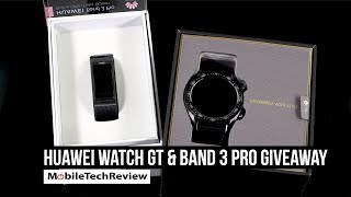 Huawei Watch GT and Band 3 Pro US Giveaway