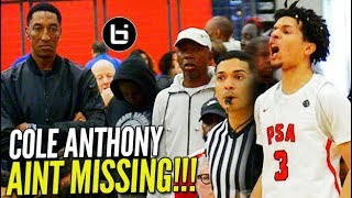 THAT MAN AINT MISSING! Cole Anthony is UNCONSCIOUS From 3 Point Land w/ NBA Legends Watching!