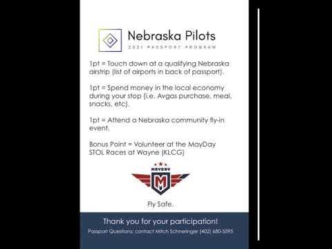 2021 Nebraska Pilots Passport Teaser