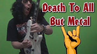 Guitar Lesson - Death To All But Metal (Steel Panther) guitar solo, with tabs!