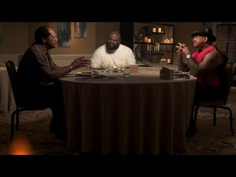 See Which Nation Of Domination Member The Rock Pranks On Table For 3 (WWE Network Exclusive)