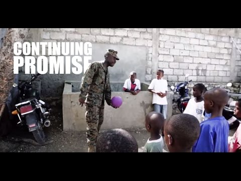Continuing Promise | Marines Continue Humanitarian Aid in Ha