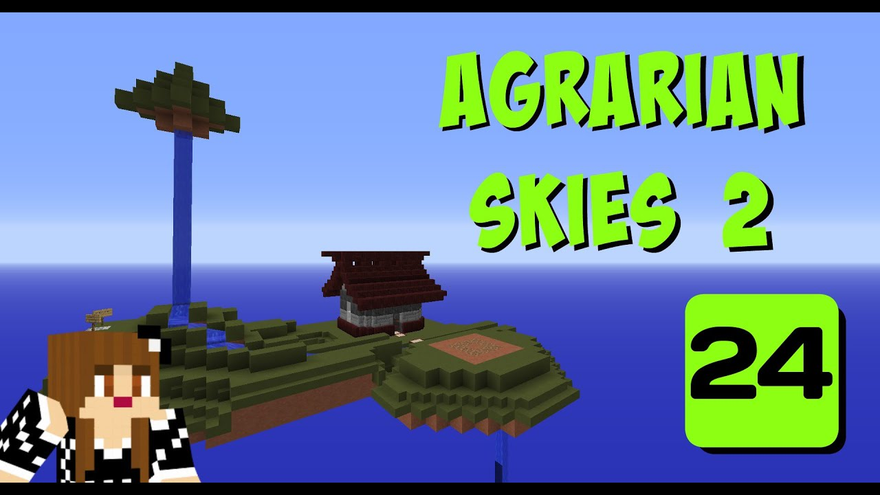 Attractive Botania Flower Crafting On Agrarian Skies 2 Ep24