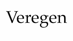 How to Pronounce Veregen