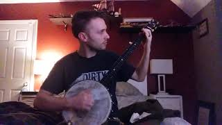 Steve Martin's clawhammer originals medley banjo cover on my 1894 SS Stewart Universal Favorite
