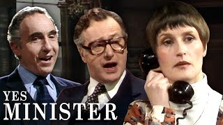 FUNNIEST MOMENTS of Yes, Mİnister Series 1 | Yes, Minister | BBC Comedy Greats