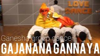 GAJANANA GANARAYA#GANESH VANDANA  #GANPATI GROUP DANCE# RITU'S DANCE STUDIO # SURAT